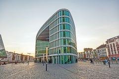 Westhafen-haus moderne célèbre Photo stock