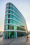 Westhafen-haus moderne célèbre Photographie stock libre de droits