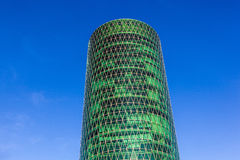 Westhafen tower in the harbor area Royalty Free Stock Image