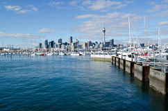 Westhaven Marina - Auckland Stock Photos