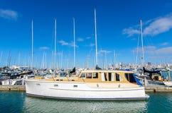 Westhaven Marina is the largest yacht marina in Auckland,New Zealand. Auckland,New Zealand - October 25,2015 : Westhaven Marina is the largest yacht marina in Royalty Free Stock Image