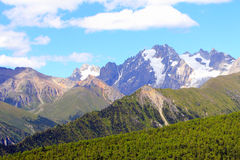 Westhochlandlandschaft, China17 Stockbild