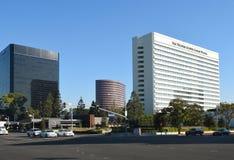 Westin南海岸广场Costa Mesa 免版税库存照片