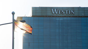 Westin大厦在开普敦 图库摄影