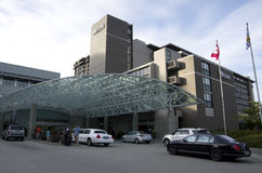 The Westin Bayshore, Vancouver Stock Photos