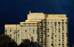 Westin building in Ottawa in Canada royalty free stock images