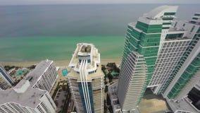 Westin Diplomat Hollywood Florida stock video