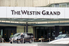 The Westin Grand munich. The Westin Grand hotel at the munich Arabellapark Stock Photography