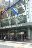 Westin Hotel. A Westin Hotel in Times Square, New York City Royalty Free Stock Photo