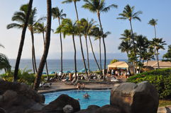 Westin Kaanapali in Maui, Hawaii Royalty Free Stock Photography