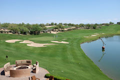 Westin Kierland Golf Course Royalty Free Stock Images