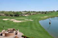 Westin Kierland golfbana Royaltyfria Bilder