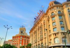 The Westin Palace Hotel on Plaza de Canovas del Castillo in Madrid. Stock Photos