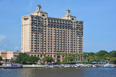 Westin Savannah Harbor Golf Resort y balneario Foto de archivo libre de regalías