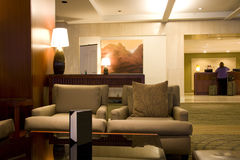 Westin Seattle Hotel lobby front desk Royalty Free Stock Photos