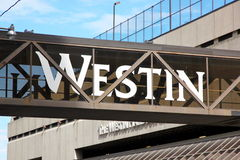 Westin Sign Royalty Free Stock Images
