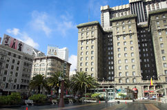 The Westin St. Francis. One of San Francisco's grand hotels. The Westin is located along the world famous union square Royalty Free Stock Image