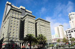 The Westin St. Francis. One of San Francisco's grand hotels. The Westin is located along the world famous union square Royalty Free Stock Photography