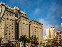 The Westin St. Francis, San Francisco. The Westin St. Francis, one of San Francisco`s grand hotels. The Westin is located along the world famous union square Stock Photos