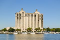 Westinen Savannah Harbor Golf Resort och Spa Arkivbild