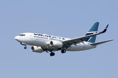 Westjet Air Travel Stock Photography