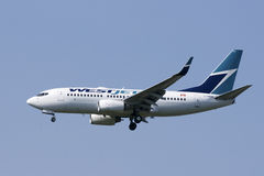 Westjet Airlines Royalty Free Stock Image