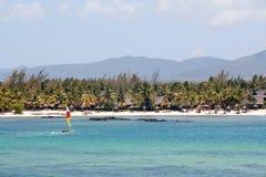 Westküste Mauritius Stockfoto