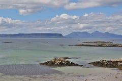 Westküste Schottland Stockbild
