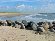 Westküste von Dänemark Lizenzfreie Stockfotos