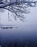 WestLake. After a heavy snowfall of the Hangzhou West Lake Royalty Free Stock Photo