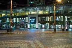 Westlake Center at night, Seattle Washington Stock Images