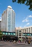 Westlake Center in Seattle, WA Royalty Free Stock Image