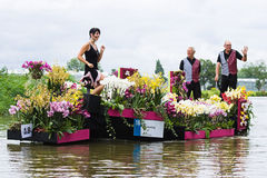 Westland Floating Flower Parade 2009 Stock Photo