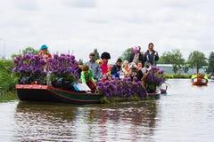 Westland Floating Flower Parade 2009 Royalty Free Stock Image