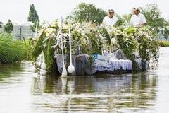 Westland Floating Flower Parade 2009 Royalty Free Stock Photo