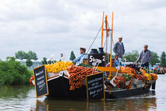 Westland Floating Flower Parade 2009 Royalty Free Stock Images