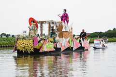 Westland Floating Flower Parade 2010 Stock Images