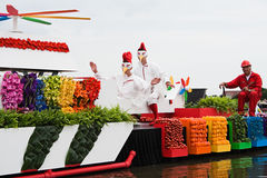 Westland Floating Flower Parade 2010 Royalty Free Stock Photo
