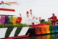 Westland Floating Flower Parade 2010 Royalty Free Stock Photo