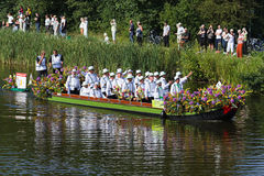 Westland Floating Flower Parade 2010, Netherlands Stock Photos