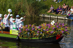 Westland Floating Flower Parade 2010, Netherlands Stock Photography