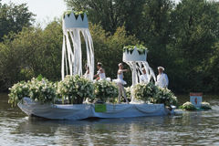 Westland Floating Flower Parade 2011 Royalty Free Stock Photography