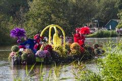 Westland Floating Flower Parade 2011 Royalty Free Stock Photos