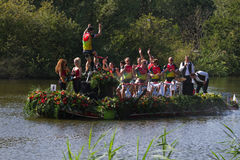 Westland Floating Flower Parade Royalty Free Stock Images