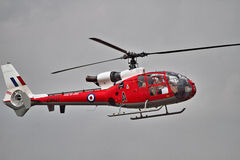 Westland Gazelle Helicopter at airshow Stock Images