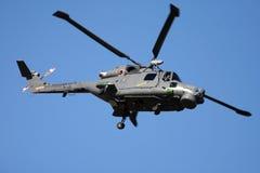 westland lynx вертолета стоковая фотография rf