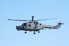 westland lynx полета Стоковое фото RF