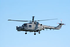 Westland Lynx In Flight Royalty Free Stock Photo