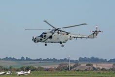Westland Lynx lands Royalty Free Stock Images