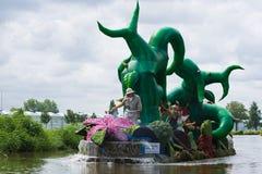 Westland sich hin- und herbewegende Blumen-Parade 2009 Stockfotografie